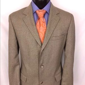 Brooks Brothers 1818 Sport Coat Herringbone 40R